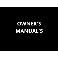 Click For Small Engine Owners Manual