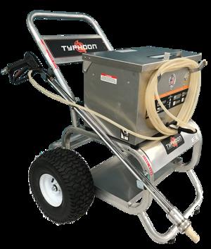 Sand blaster hopper cart