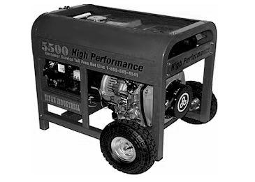 5500D Diesel Generator